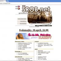 1997: Vznik prvej verzie webovej stránky školy (1/4)