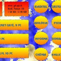 1997: Vznik prvej verzie webovej stránky školy (4/4)