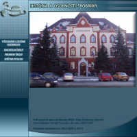 2005: Vznik druhej verzie webovej stránky školy (2/3)