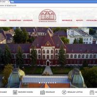 2018: Vznik tretej verzie webovej stránky školy (1/3)