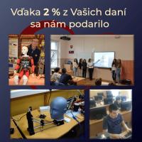 2 percentá z dane pre Šrobárku (3/4)