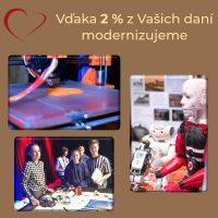 2 percentá z dane pre Šrobárku (3/3)