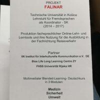 Sympózium k ukončeniu projektu Falinar (9/16)
