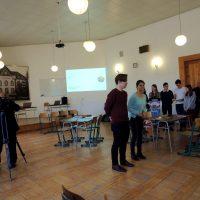 Otvorená hodina nemeckého jazyka pre základnú školu (1/16)