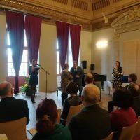 Ocenenie Mgr. Z. Karkošiakovej pri príležitosti Dňa učiteľov (1/4)