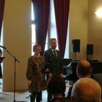 Ocenenie Mgr. Z. Karkošiakovej pri príležitosti Dňa učiteľov (2/4)