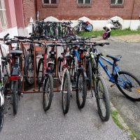 Do školy na bicykli (8/21)