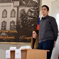 Jugend debattiert international – východoslovenské finále (2/10)