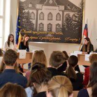 Jugend debattiert international – východoslovenské finále (3/10)