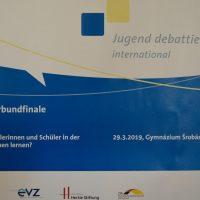 Jugend debattiert international – východoslovenské finále (9/10)