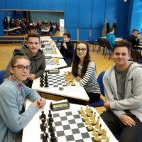 Školské majstrovstvá okresov Košice I - IV v zrýchlenom šachu (1/10)