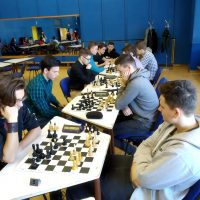 Školské majstrovstvá okresov Košice I - IV v zrýchlenom šachu (3/10)