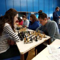 Školské majstrovstvá okresov Košice I - IV v zrýchlenom šachu (6/10)