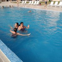 Premiérový plavecký kurz v Bulharsku (80/124)
