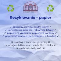 Recyklácia odpadu na Šrobárke (4/5)