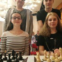 Majstrovstvá Slovenska štvorčlenných družstiev v zrýchlenom šachu (3/6)