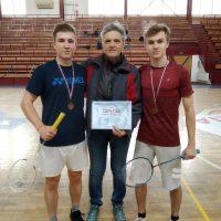 Regionálne finále v badmintone chlapcov (8/10)