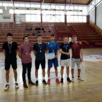 Regionálne finále v badmintone chlapcov (9/10)