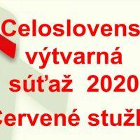 """Vyhodnotenie súťaže """"Logo pre Červené stužky"""" 2020 (1/5)"""