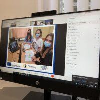 Online stretnutie s projektovými partnermi v rámci programu Erasmus+ (6/11)