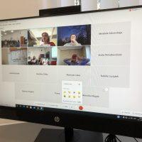 Online stretnutie s projektovými partnermi v rámci programu Erasmus+ (9/11)