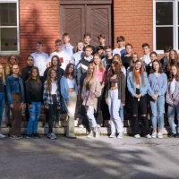 Začiatok školského roka 2021/2022 — skupinové fotografie (1/11)